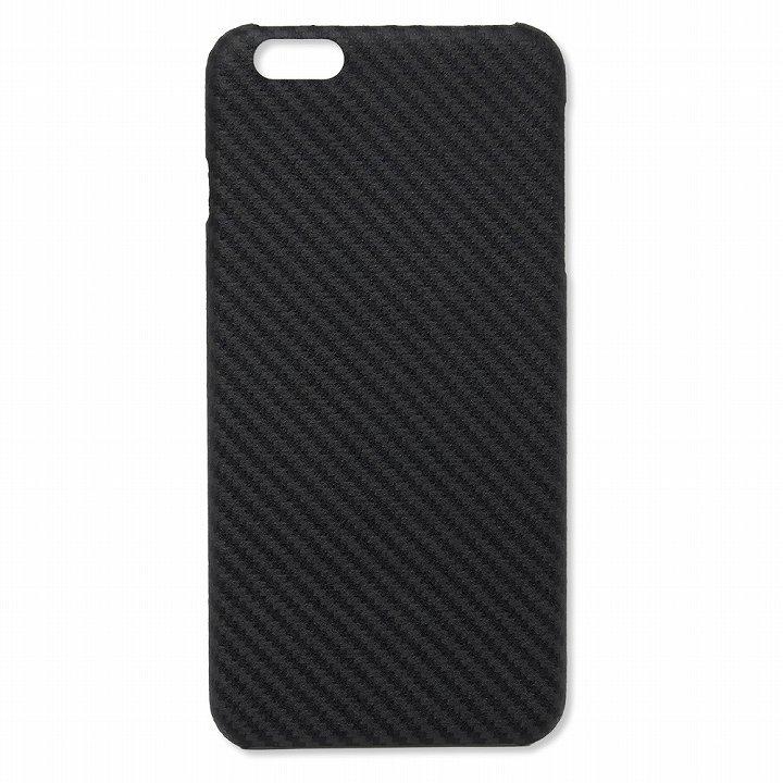 iPhone6s Plus/6 Plus ケース Deff monCarbone HoverKoat ケブラーケース ブラック iPhone 6s Plus/6 Plus_0