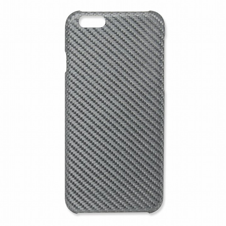 Deff monCarbone HoverKoat グラスファイバーケース シルバー iPhone 6