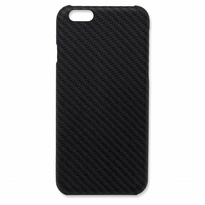 iPhone6 ケース Deff monCarbone HoverKoat ケブラーケース ブラック iPhone 6_0