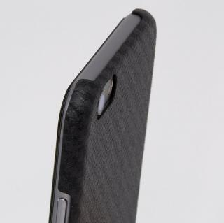 【iPhone6ケース】Deff monCarbone HoverKoat ケブラーケース ブラック iPhone 6_4