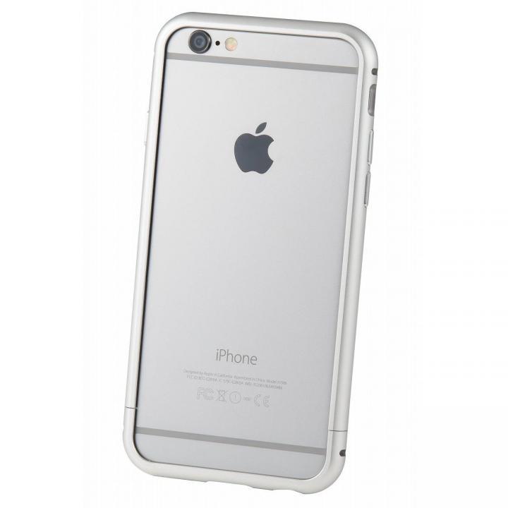 iPhone6s/6 ケース クリスタルアーマー メタルバンパー シルバー iPhone 6s/6_0