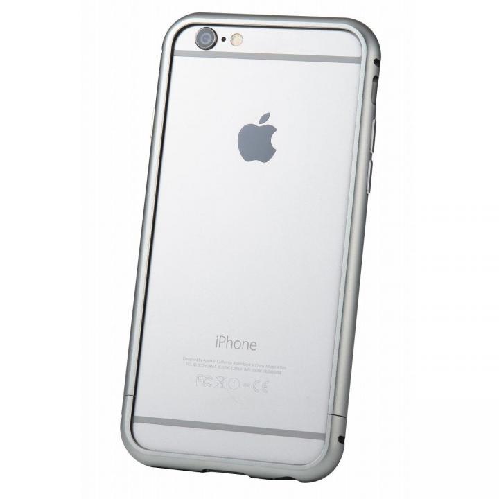 iPhone6s/6 ケース クリスタルアーマー メタルバンパー グレイ iPhone 6s/6_0
