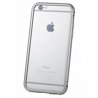 クリスタルアーマー メタルバンパー グレイ iPhone 6s/6