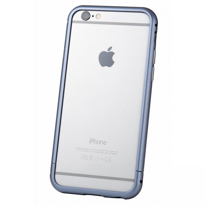iPhone6s/6 ケース クリスタルアーマー メタルバンパー ネイビー iPhone 6s/6_0