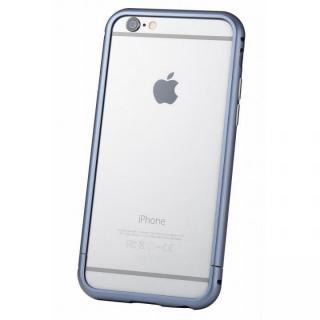 【iPhone6s/6ケース】クリスタルアーマー メタルバンパー ネイビー iPhone 6s/6