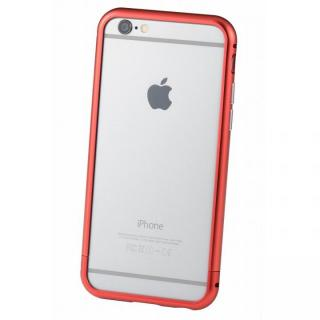 クリスタルアーマー メタルバンパー レッド iPhone 6