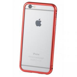 クリスタルアーマー メタルバンパー レッド iPhone 6s/6