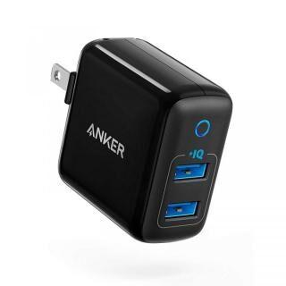 Anker PowerPort II - 2 PowerIQ USB急速充電器 ブラック
