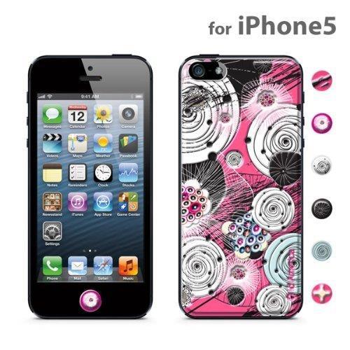 【iPhone SE/5s/5ケース】id America Cushi iPhone5-Flower 【Rose】_0