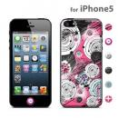 id America Cushi iPhone5-Flower 【Rose】