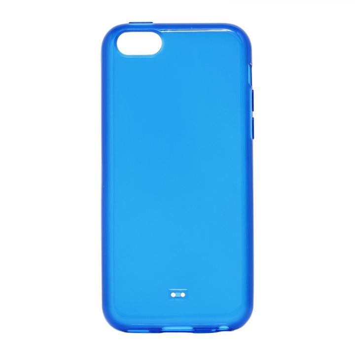 iPhone 5c TPUケース(ノーマル) ブルー