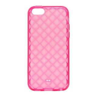 iPhone 5c TPUケース(ダイヤ) ピンク