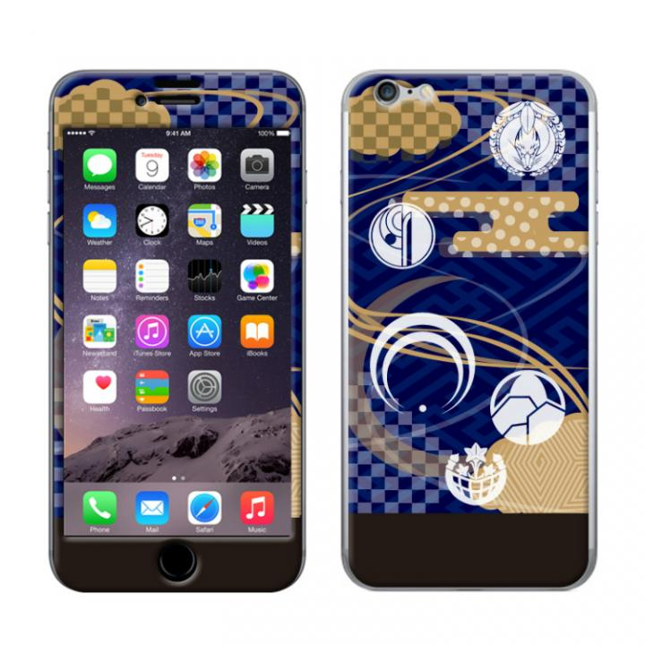 【iPhone6s/6ケース】刀剣乱舞 Gizmobies TOUKENRANBU ネイビー iPhone 6/6s_0