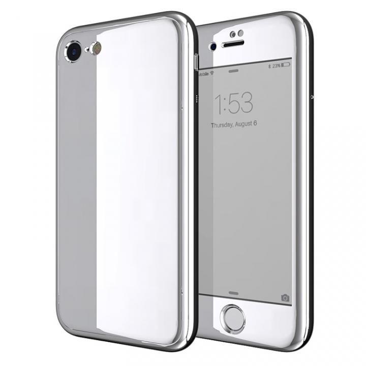 iPhone7 ケース Monolith7 フルカバーケース プラチナシルバー iPhone 7_0