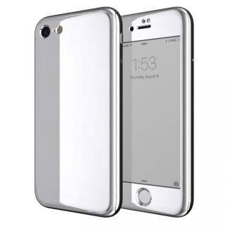 Monolith7 フルカバーケース プラチナシルバー iPhone 7