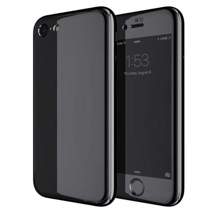 iPhone7 ケース Monolith7 フルカバーケース ジェットブラック iPhone 7_0