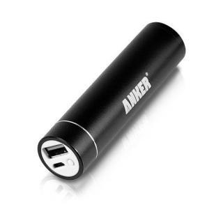 [3000mAh] スティック型Anker Astro Mini モバイルバッテリー microUSB ブラック
