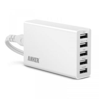 Anker 25W 5ポート USB急速充電ACアダプター