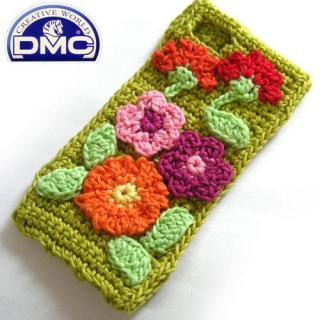 Knit Wear  iPhone SE/5s/5 Flower グリーン