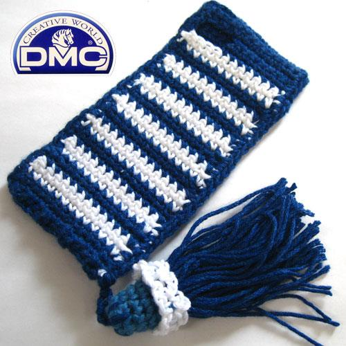 iPhone SE/5s/5 ケース Knit Wear  iPhone SE/5s/5 Border ブルー_0
