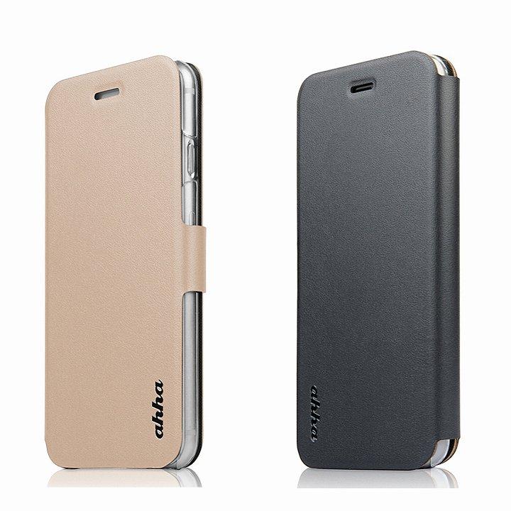 【iPhone6ケース】リバーシブル仕様 手帳型ケース ゴールド/グレイ iPhone 6_0
