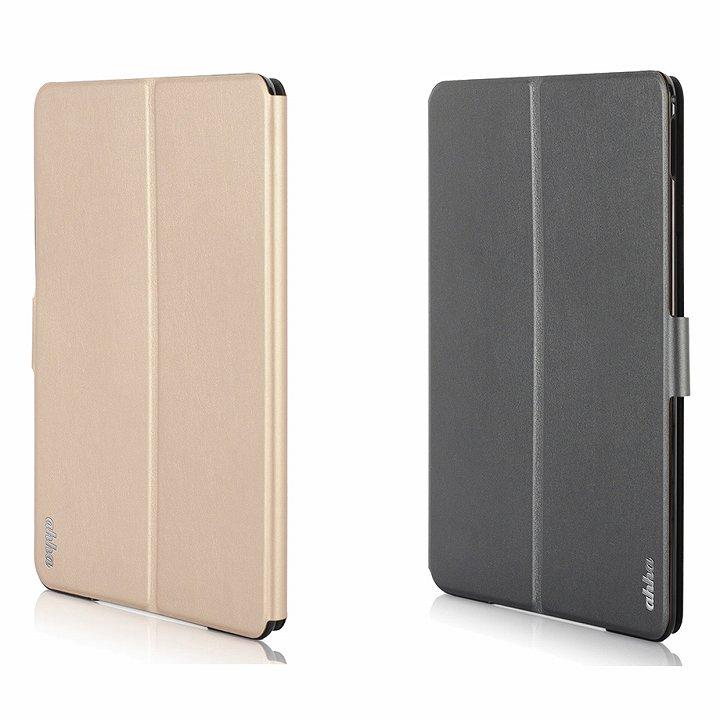リバーシブル仕様 手帳型ケース ゴールド/グレイ iPad Air 2_0