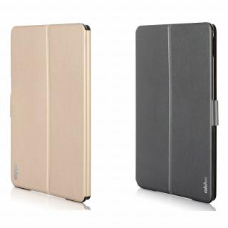 リバーシブル仕様 手帳型ケース ゴールド/グレイ iPad Air 2