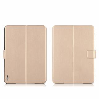 リバーシブル仕様 手帳型ケース ゴールド/グレイ iPad Air 2_1
