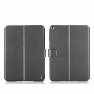 リバーシブル仕様 手帳型ケース ゴールド/グレイ iPad Air 2_2