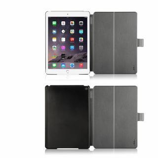 リバーシブル仕様 手帳型ケース ゴールド/グレイ iPad Air 2_6