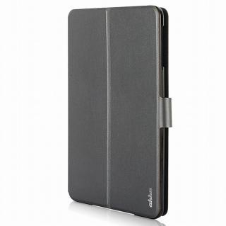 リバーシブル仕様 手帳型ケース グレイ/ブルー iPad mini 2/3