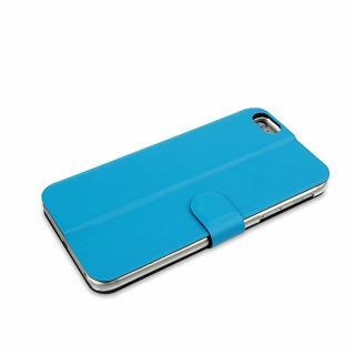 【iPhone6ケース】リバーシブル仕様 手帳型ケース グレイ/ブルー iPhone 6_3