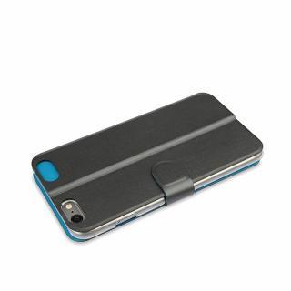 【iPhone6ケース】リバーシブル仕様 手帳型ケース グレイ/ブルー iPhone 6_4