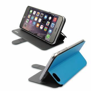 【iPhone6ケース】リバーシブル仕様 手帳型ケース グレイ/ブルー iPhone 6_8