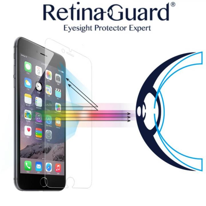 [0.4mm]ブルーライト90%カット強化ガラスフィルム Retina Guard iPhone 6