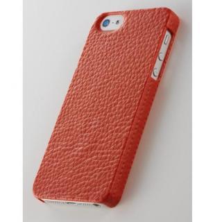 次元シリーズ  革 3Dテクスチャーカバー 紅柄 iPhone SE/5s/5ケース