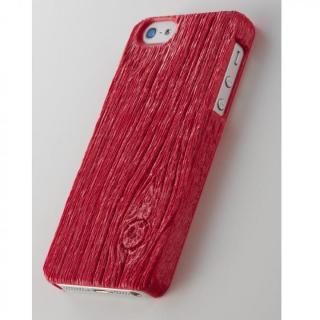 iPhone SE/5s/5 ケース 次元シリーズ 梁 3Dテクスチャーカバー 苺色 iPhone SE/5s/5ケース