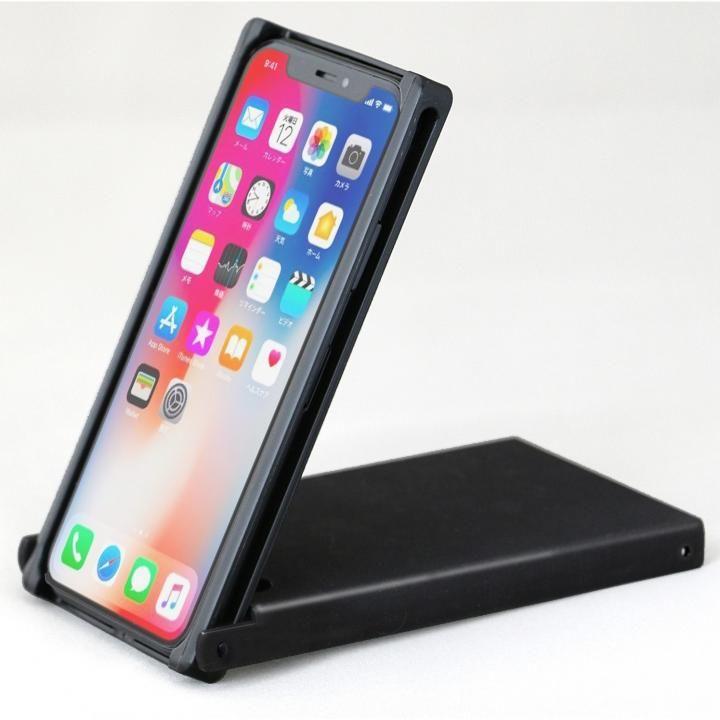 【iPhone Xケース】Trick Cover ヌンチャク系ケース 樹脂 ブラック iPhone X_0
