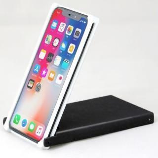 Trick Cover ヌンチャク系ケース 樹脂 ホワイト×ブラック iPhone X【2月上旬】