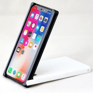 Trick Cover ヌンチャク系ケース 樹脂 ブラック×ホワイト iPhone X