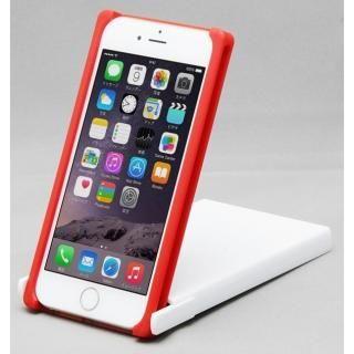 【iPhone8/7/6sケース】Trick Cover ヌンチャク系ケース 樹脂 レッド×ホワイト iPhone 8/7/6s