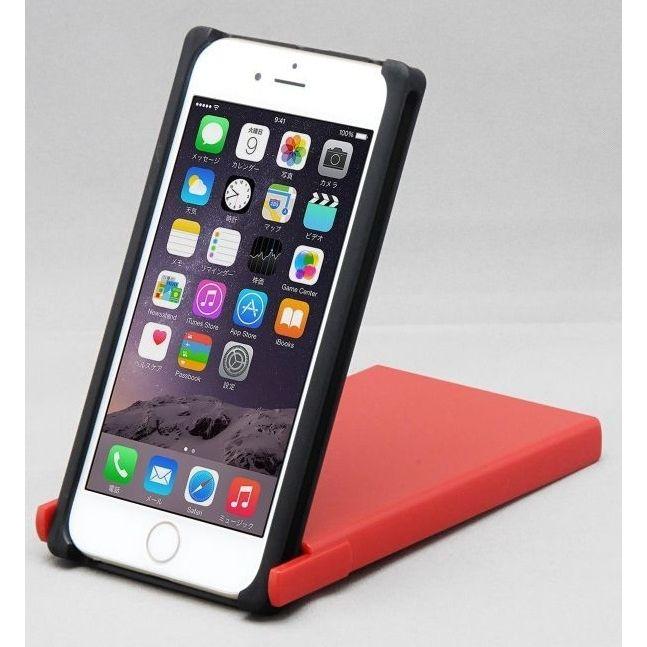 iPhone8/7/6s ケース Trick Cover ヌンチャク系ケース 樹脂 ブラック×レッド iPhone 8/7/6s_0