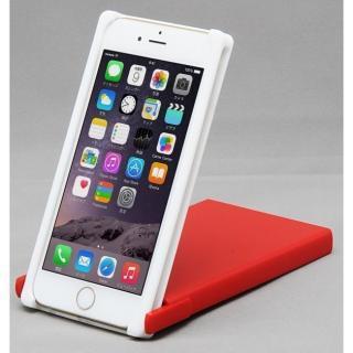 【iPhone8/7/6sケース】Trick Cover ヌンチャク系ケース 樹脂 ホワイト×レッド iPhone 8/7/6s