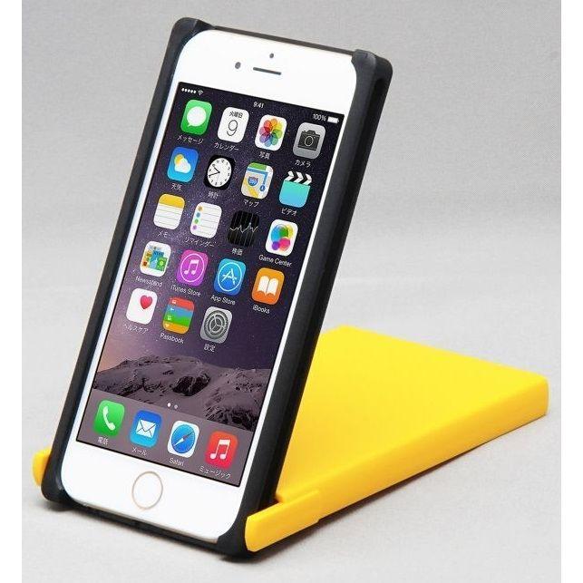 iPhone8/7/6s ケース Trick Cover ヌンチャク系ケース 樹脂 ブラック×イエロー iPhone 8/7/6s_0