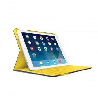 Logicool iPad Air ファブリックスキン キーボード フォリオ アーバングレー