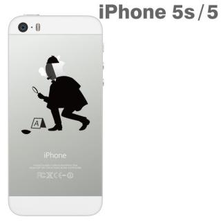 iPhone SE/5s/5 アップラスハードクリアケース(林檎探偵)