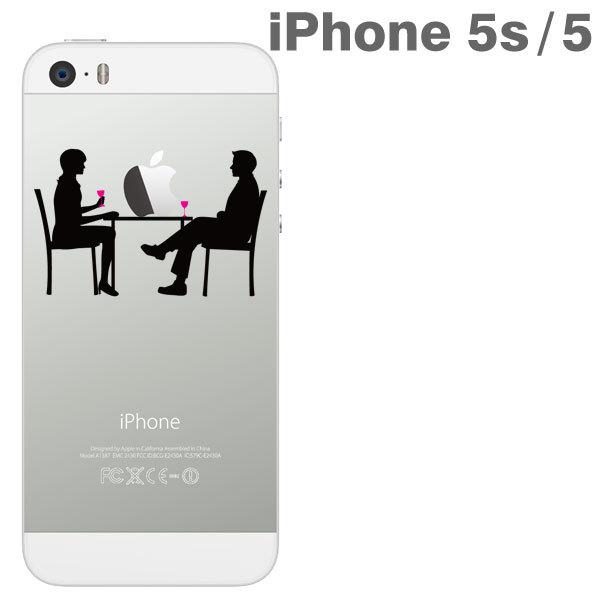iPhone SE/5s/5 ケース iPhone SE/5s/5 アップラスハードクリアケース(食卓)_0