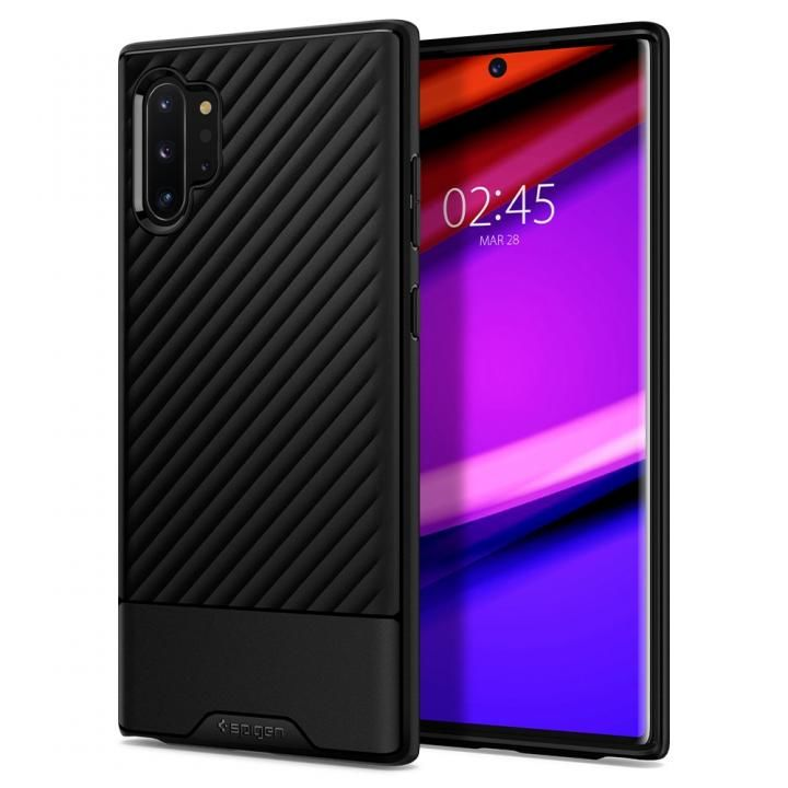 Galaxy Note 10+ Core Armor Matte Black_0