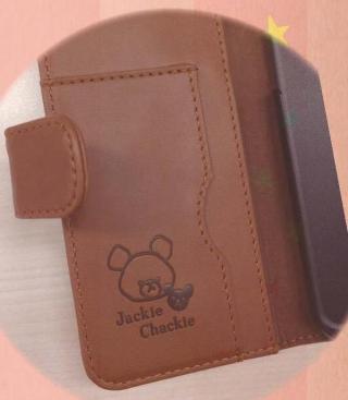【iPhone6ケース】くまのがっこう PUレザー手帳型ケース 抱きしめ iPhone 6s/6_1