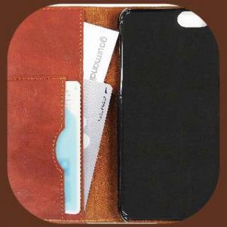 【iPhone6ケース】くまのがっこう PUレザー手帳型ケース 抱きしめ iPhone 6s/6_2